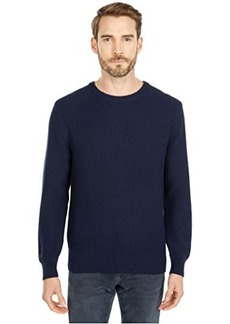 J.Crew Cotton Checker Stitch Crew