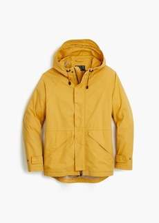 J.Crew Cotton-nylon hooded jacket