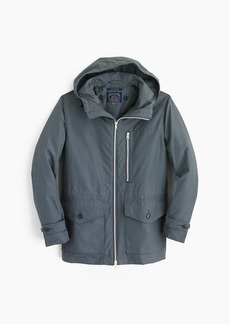 J.Crew Cotton-nylon x250 hooded jacket