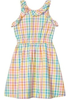 J.Crew Cotton Poplin Dress (Toddler/Little Kids/Big Kids)