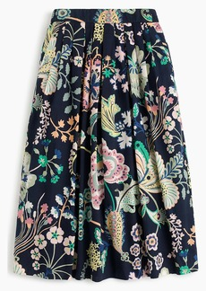 J.Crew Cotton skirt in Liberty® Betsy Ann floral