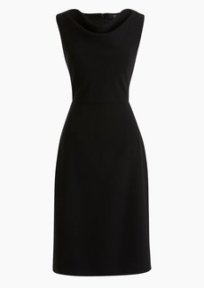J.Crew Cowlneck sheath dress in 365 crepe