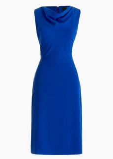 J.Crew Cowlneck sheath dress in everyday crepe