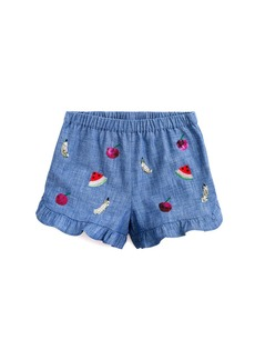 Crewcuts By J.Crew 130 Alana Embroidered Short