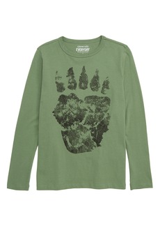 crewcuts by J.Crew Bear Paw T-Shirt (Toddler Boys, Little Boys & Big Boys)