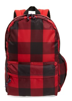 crewcuts by J.Crew Buffalo Check Backpack (Kids)