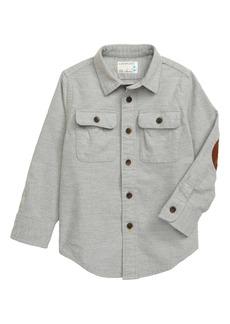 crewcuts by J.Crew Button-Up Chamois Shirt (Toddler Boys, Little Boys & Big Boys)