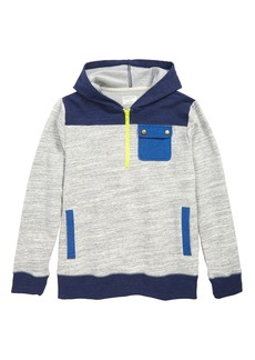 crewcuts by J.Crew Colorblock Half Zip Hoodie (Toddler Boys, Little Boys & Big Boys)