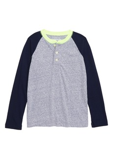 crewcuts by J.Crew Colorblock Henley (Toddler Boys, Little Boys & Big Boys)