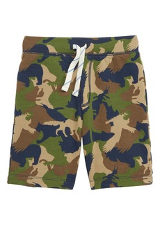 crewcuts by J.Crew Critter Camo Sweat Shorts (Toddler Boys, Little Boys & Big Boys)