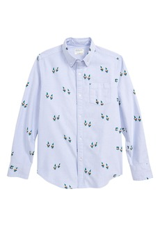 crewcuts by J.Crew Critter Oxford Shirt (Toddler Boys, Little Boys & Big Boys)