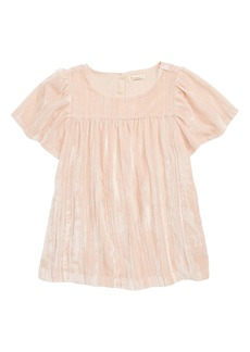crewcuts by J.Crew Crushed Velvet Dress (Toddler Girls, Little Girls & Big Girls)