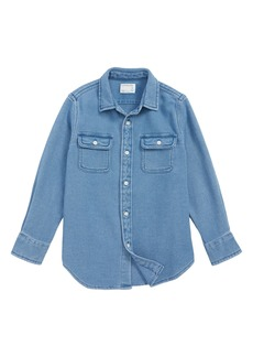 crewcuts by J.Crew Dobby Cotton Shirt (Toddler Boys, Little Boys & Big Boys)