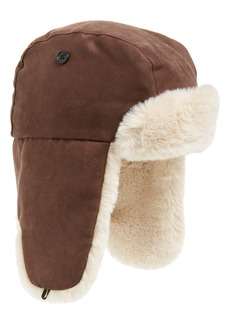 crewcuts by J.Crew Faux Fur Lined Trapper Hat (Big Boys)