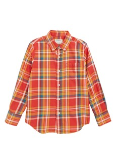 crewcuts by J.Crew Flannel Shirt (Toddler Boys, Little Boys & Big Boys)
