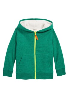 crewcuts by J.Crew Fleece Lined Full Zip Hoodie (Toddler Boys, Little Boys & Big Boys)