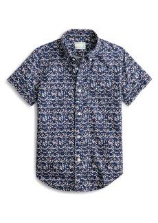 crewcuts by J.Crew Floral Button-Down Shirt (Toddler Boys, Little Boys & Big Boys)