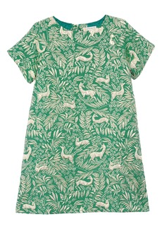 crewcuts by J.Crew Ginny Deer Jacquard Dress (Little Girls & Big Girls)