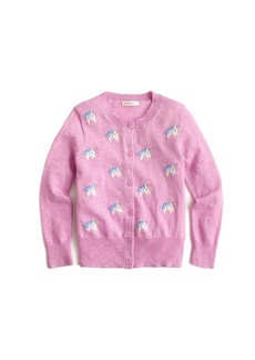 Crewcuts By J.Crew Girls' Cardigan Sweater With Unicorns