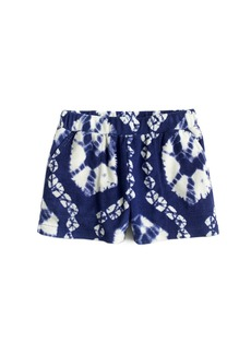 Crewcuts By J.Crew Girls' Pull-On Terry Short In Tie-Dye