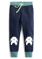 crewcuts by J.Crew Glow-in-the-Dark Yeti Knee Sweatpants (Toddler Boys, Little Boys & Big Boys)
