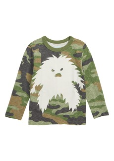 crewcuts by J.Crew Glow in the Dark Yeti T-Shirt (Toddler Boys, Little Boys & Big Boys)
