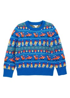 crewcuts by J.Crew Gnome Fair Isle Sweater (Toddler Boys, Little Boys & Big Boys)