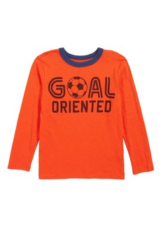 crewcuts by J.Crew Goal Oriented Soccer T-Shirt (Toddler Boys, Little Boys & Big Boys)