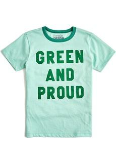Crewcuts By J.Crew  Green & Proud T-Shirt
