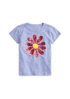 Crewcuts By J.Crew Kids' Sequin Daisy T-Shirt