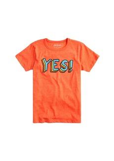 Crewcuts By J.Crew  Kids' Yes T-Shirt