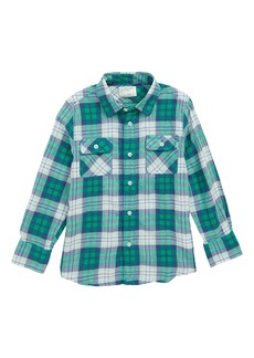 crewcuts by J.Crew Lightweight Flannel Shirt (Toddler Boys, Little Boys & Big Boys)