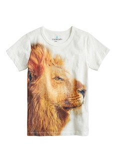 Crewcuts By J.Crew Lion Face T-Shirt