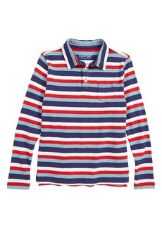 crewcuts by J.Crew Long Sleeve Polo Shirt (Toddler Boys, Little Boys & Big Boys)