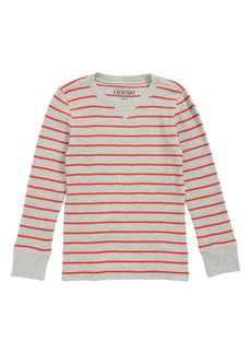 crewcuts by J.Crew Long Sleeve Waffle Knit T-Shirt (Toddler Boys, Little Boys & Big Boys)