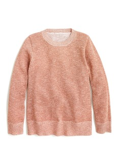 Crewcuts By J.Crew Marni Lurex Pullover Solid Top