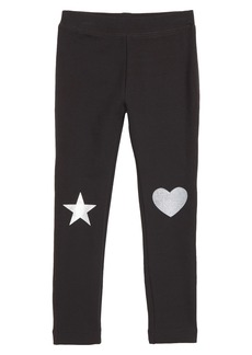 crewcuts by J.Crew Metallic Patches Everyday Leggings (Toddler Girls, Little Girls & Big Girls)