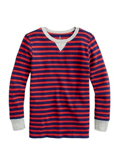 Crewcuts By J.Crew Moby Striped Waffle T-Shirt