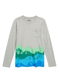 crewcuts by J.Crew Ombré Mountain T-Shirt (Toddler Boys, Little Boys & Big Boys)