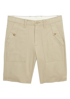 crewcuts by J.Crew Patch Pocket Twill Shorts (Toddler Boys, Little Boys & Big Boys)