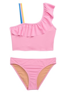 083b49a5c crewcuts by J.Crew Ruffled One-Shoulder Two-Piece Swimsuit (Toddler Girls