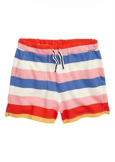 crewcuts by J.Crew Rugby Stripe Pull-On Shorts (Toddler Girls, Little Girls & Big Girls)