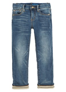 crewcuts by J.Crew Runaround Slim Fit Lined Jeans (Toddler Boys, Little Boys & Big Boys)