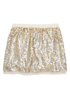 crewcuts by J.Crew Sequin Tulle Skirt (Toddler Girls, Little Girls & Big Girls)