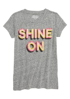 crewcuts by J.Crew Shine On Tee (Toddler Girls, Little Girls & Big Girls)