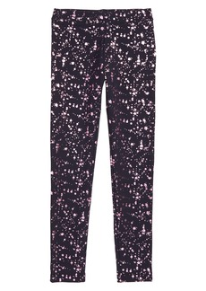 crewcuts by J.Crew Shiny Splatter Print Cozy Everyday Leggings (Toddler Girls, Little Girls & Big Girls)