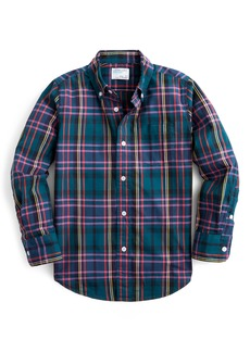 crewcuts by J.Crew Signature Plaid Shirt (Toddler Boys, Little Boys & Big Boys)