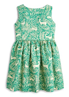 crewcuts by J.Crew Sleeveless Jacquard Dress (Toddler Girls, Little Girls & Big Girls)