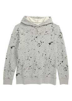 crewcuts by J.Crew Splatter Painted Hoodie Sweatshirt (Toddler Boys, Little Boys & Big Boys)