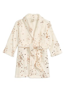 crewcuts by J.Crew Star Fleece Robe (Toddler Girls, Little Girls & Big Girls)